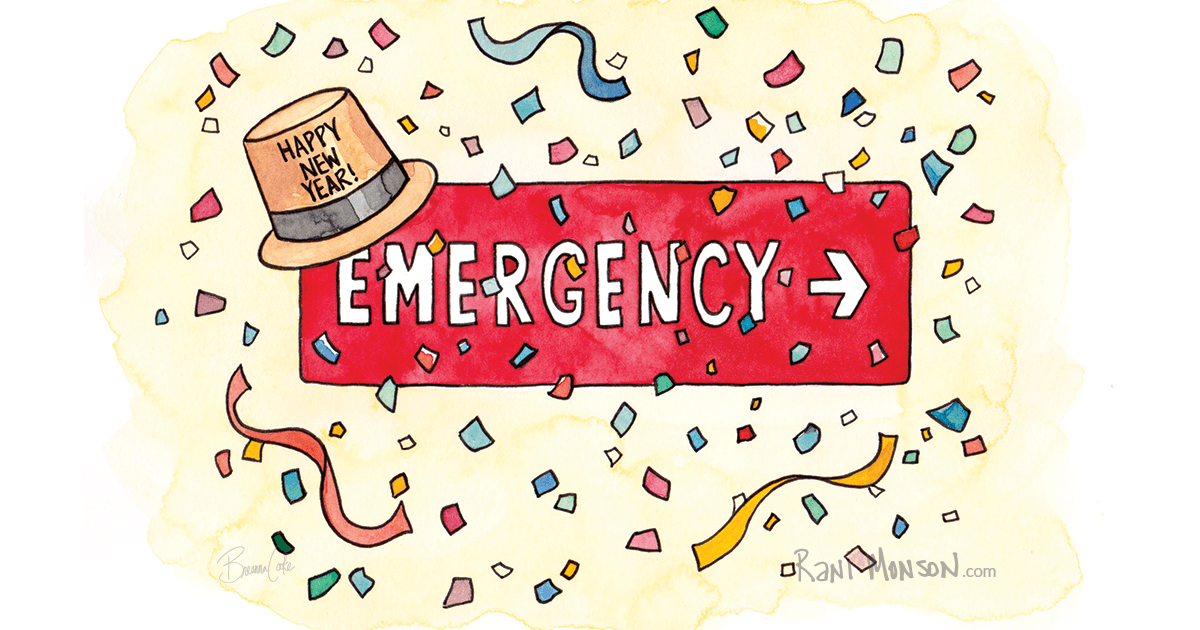 Have to avoid the ER on New Year's Eve