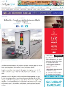 Dallas extends red light camera program 10 years