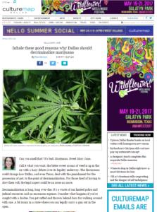Inhale these good reasons why Dallas should decriminalize marijuana